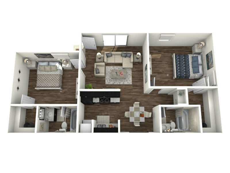 Floor Plan San Antonio Station Apartment 78229