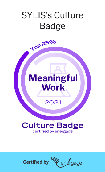 Top 25% Culture Badge Certified By Energage